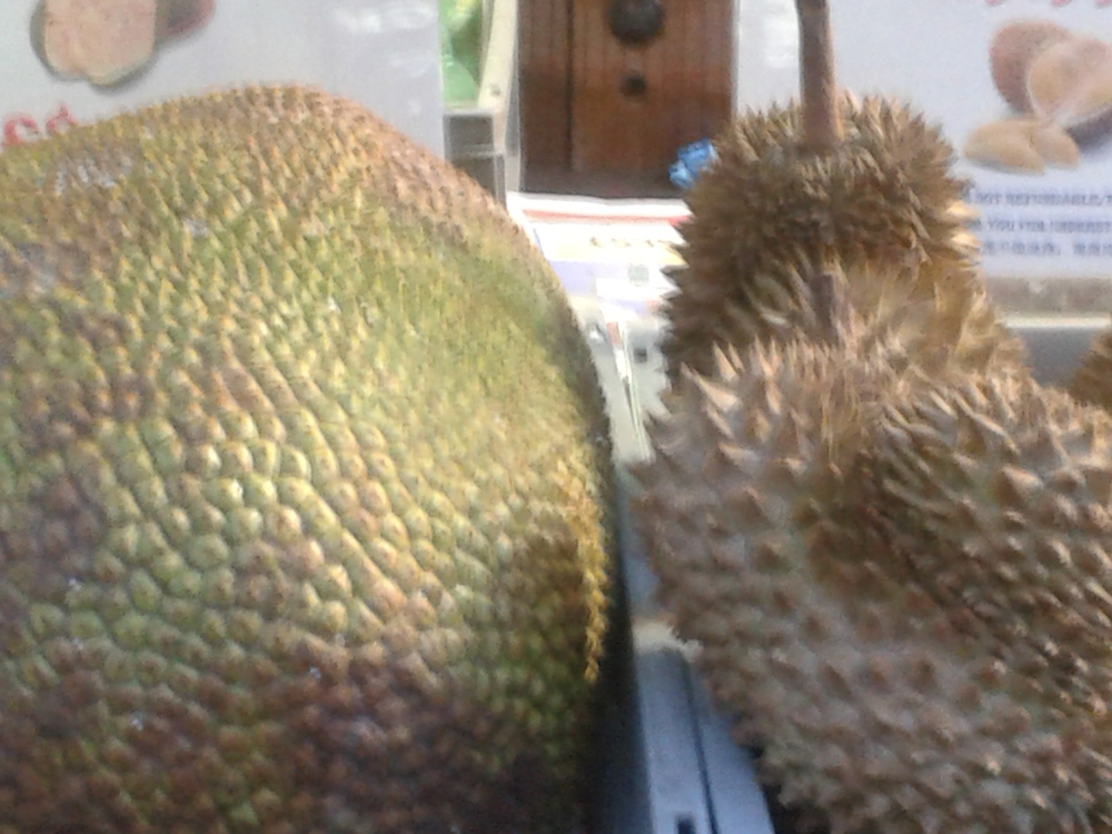 durian - a delicious fruit but the smell - horrible!